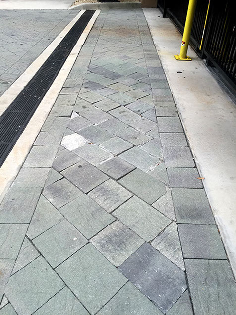 Paver Repair by Pavers Plus Stone
