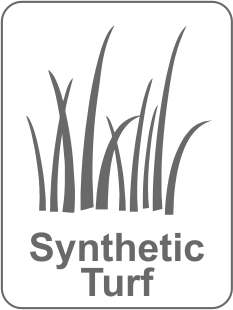 Synthetic Turf Pavers Plus Stone