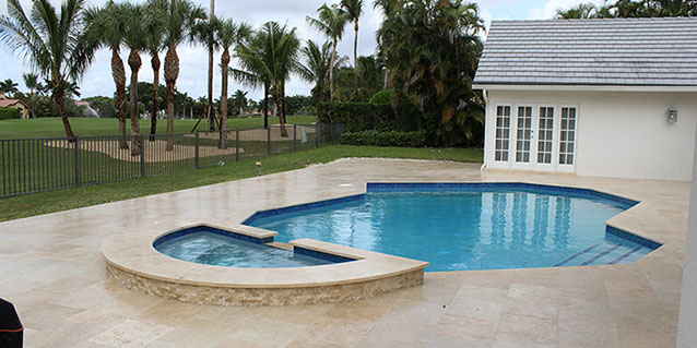 Pool Decking by Pavers Plus Stone