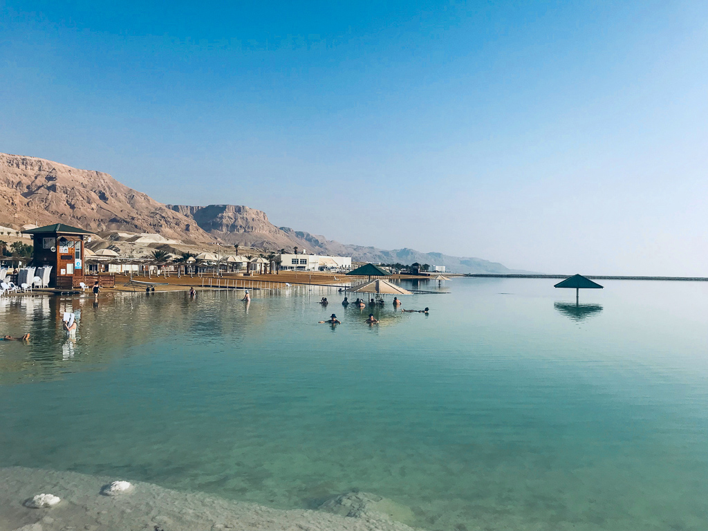 Tour Day 4: Beit Shean, Qumran, Dead Sea