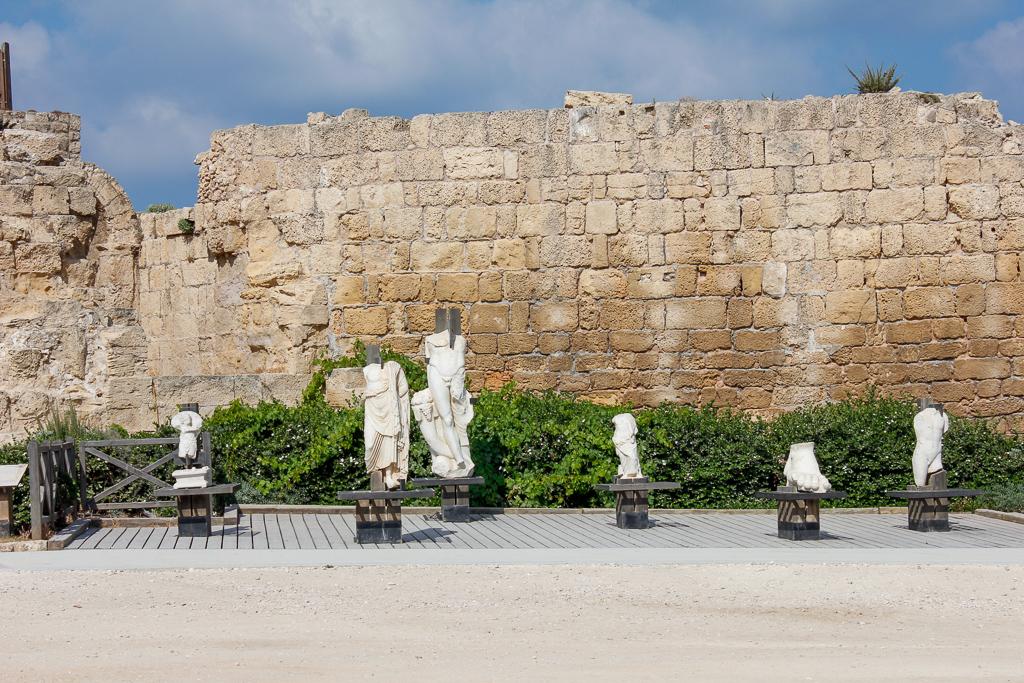 Tour Day 1: Caesarea, Mount Carmel, Megiddo or Armageddon, Tiberius