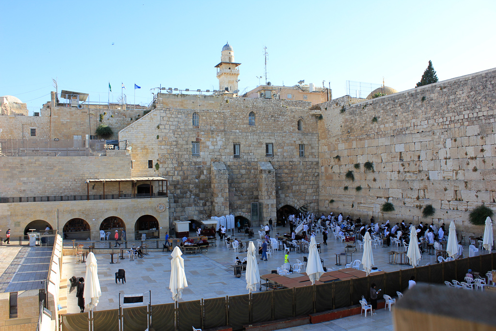 Tour Day 6: Temple Mount, Western Wall, Jerusalem Archeological Park, Jewish Quarter, Yad Vashem