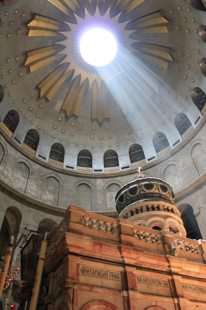Tour Day 7: Western Wall Tunnels, St. Anne, Christian Quarter, Holy Sepulcher, Israel Museum, American Embassy