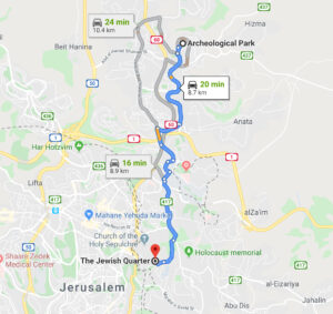 Travel to the Jewish Quarter in Jerusalem