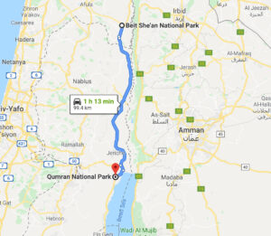 Travel to Qumran