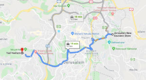 Travel to Yad Vashem – The World Holocaust Remembrance Center