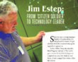 Jim Estep: From 'citizen soldier' to technology leader