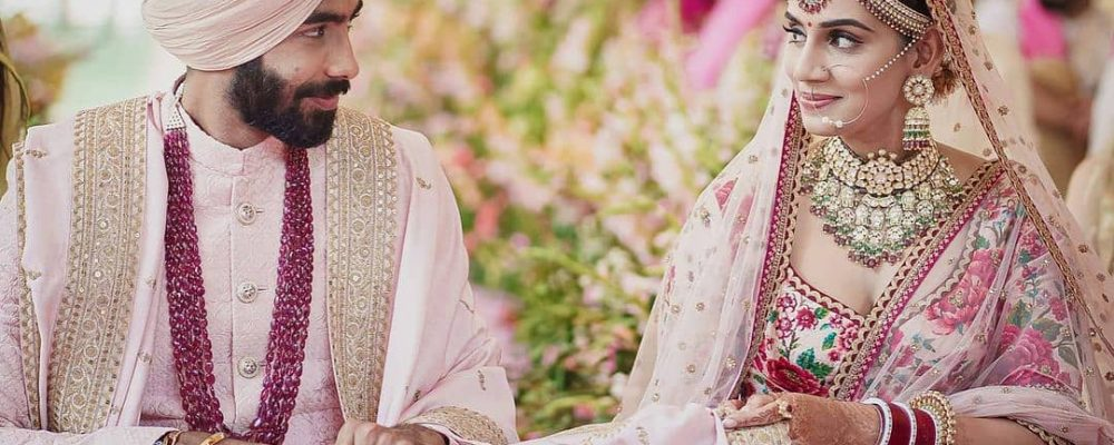 CONGRATS! Jasprit Bumrah Marries Sanjana Ganesan In A Private Ceremony In Goa, Shares FIRST PIC