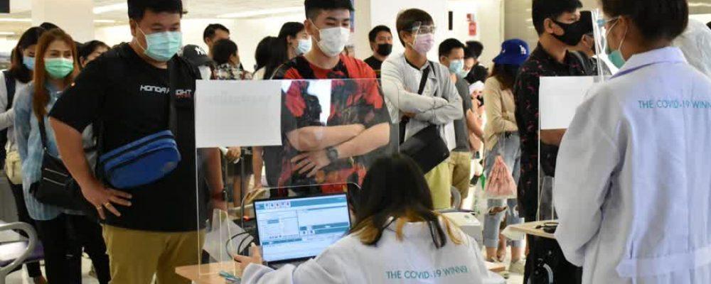 Passengers on 7 Phuket Flights Are Urged to Take Covid-19 Tests