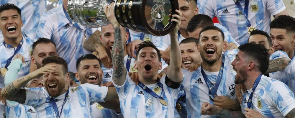 Messi pays his debt to Argentina with Copa America title