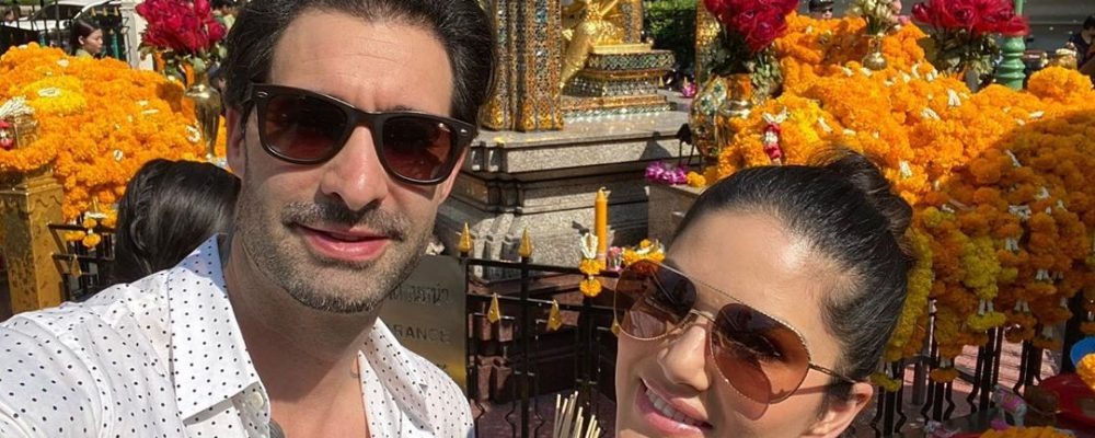 Sunny Leone begins 2020 with a trip to Thailand with husband Daniel Weber
