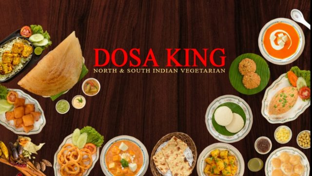 DOSA KING, 100% Pure Vegetarian Indian Restaurant