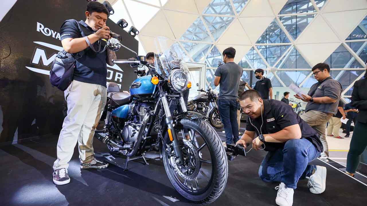 Royal Enfield Meteor 350 Launched in Thailand.