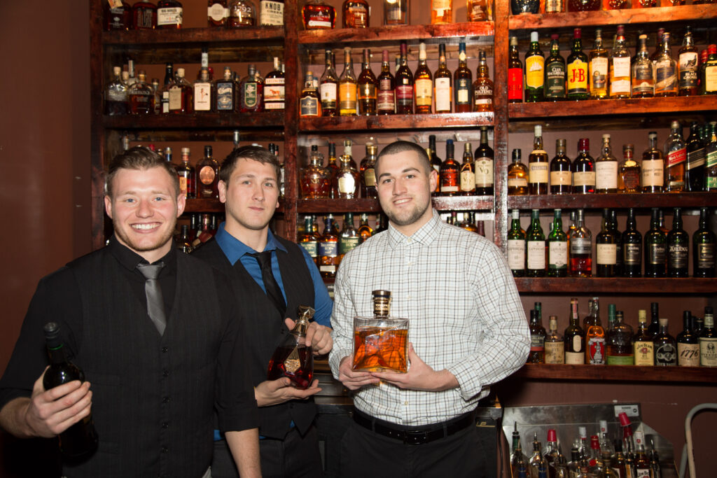 We are proud to have one of the best Whiskey & Bourbon Bars around!