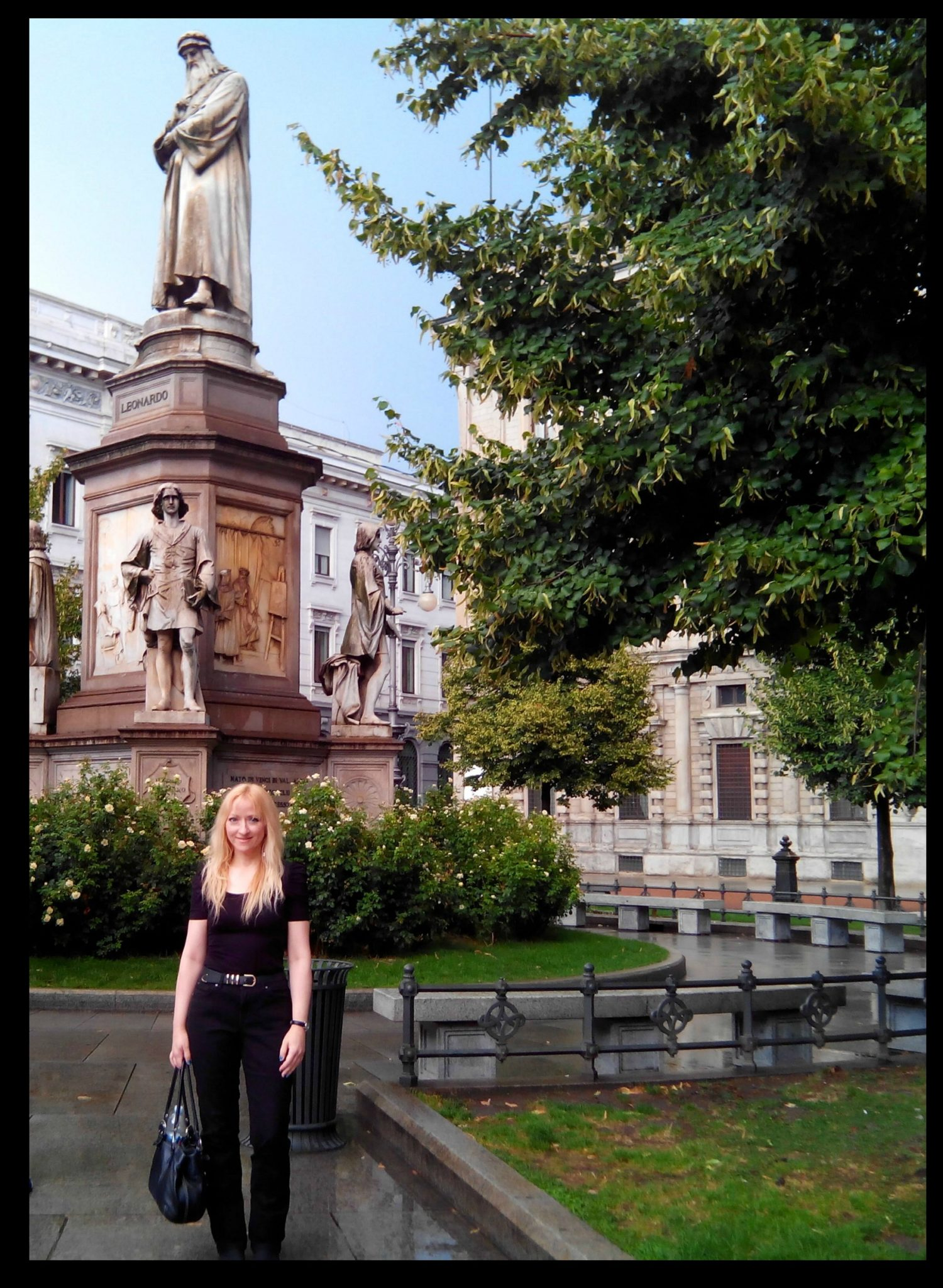 Connie Yerbic, Traveling to recording studio, Italy