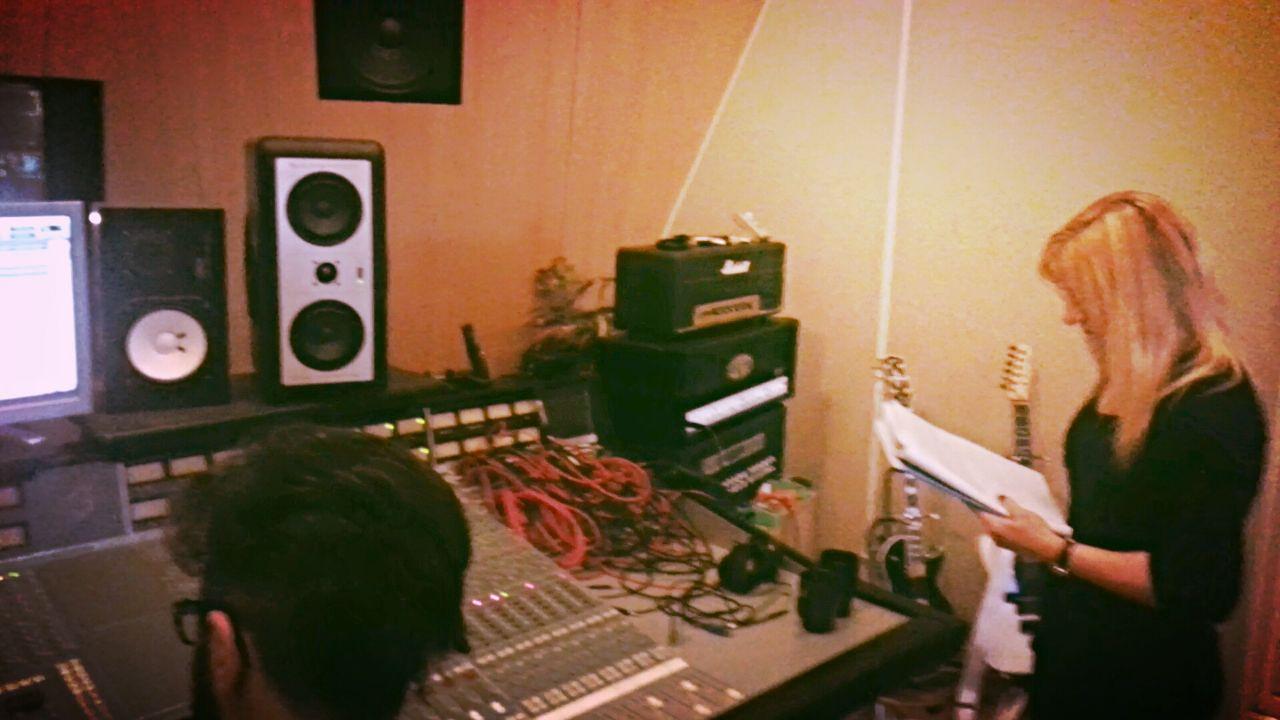 Achieve goals, recording studio, new album