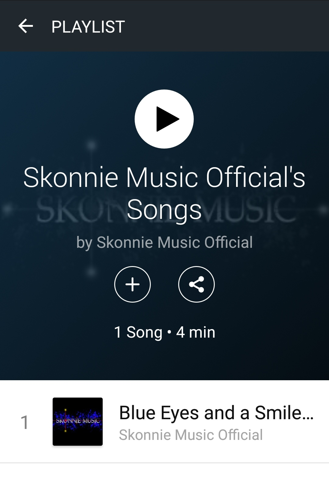 Skonnie Music curated song ReverbNation
