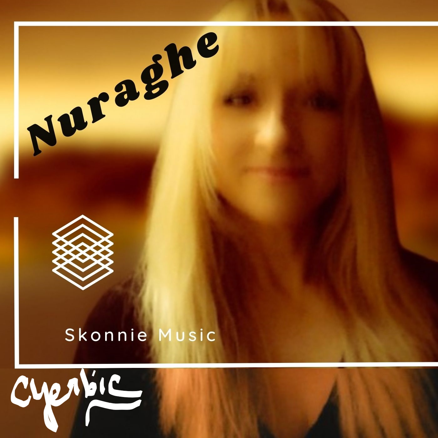 This is a prelease album cover for Nuraghe by Skonnie Music feat Connie Yerbic