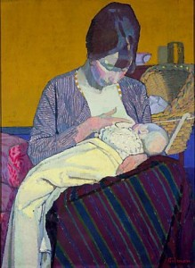 Harold Gilman - Mother and Child