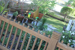 Fence pickets size and spacing
