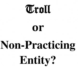 Patent Troll or NPE?