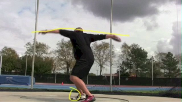 Discus Stand Throw Analysis