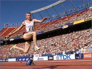 Track and Field Jumping Progression Triple Jump