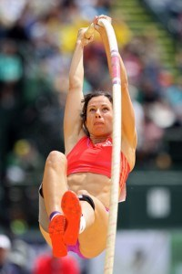 Track and Field Jumping Progression Pole Vault