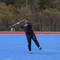 3 and 5 Step Drill for the Javelin Thrower