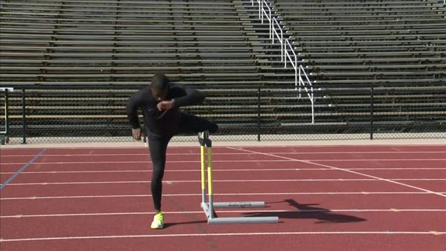 High Hurdle Training For Track and Field