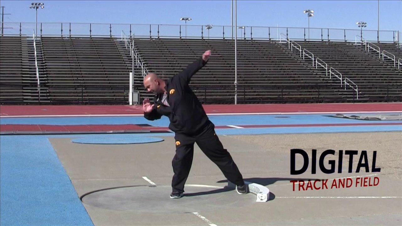 Shot Put Spin and Glide Technique Comparison