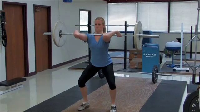 Track and Field Weight Lifting and Clean Progressions