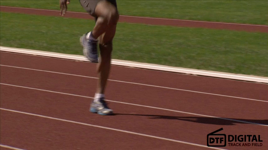 High School Track and Field Sprint Relay Training