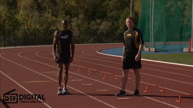 Speed Training Dynamic Warm Up