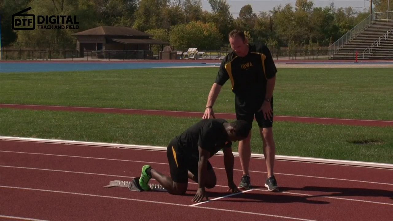 Sprinting Workouts Starting Blocks For Track and Field Video