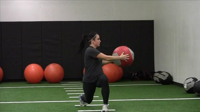 Dynamic Warm Up with Medicine Ball Video