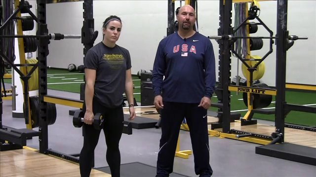 Strength Training Dumbbell Exercises For Olympic Lifting