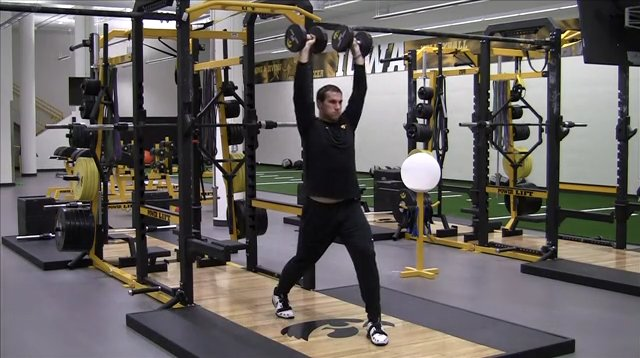 Strength Training Overhead Dumbbell Exercises