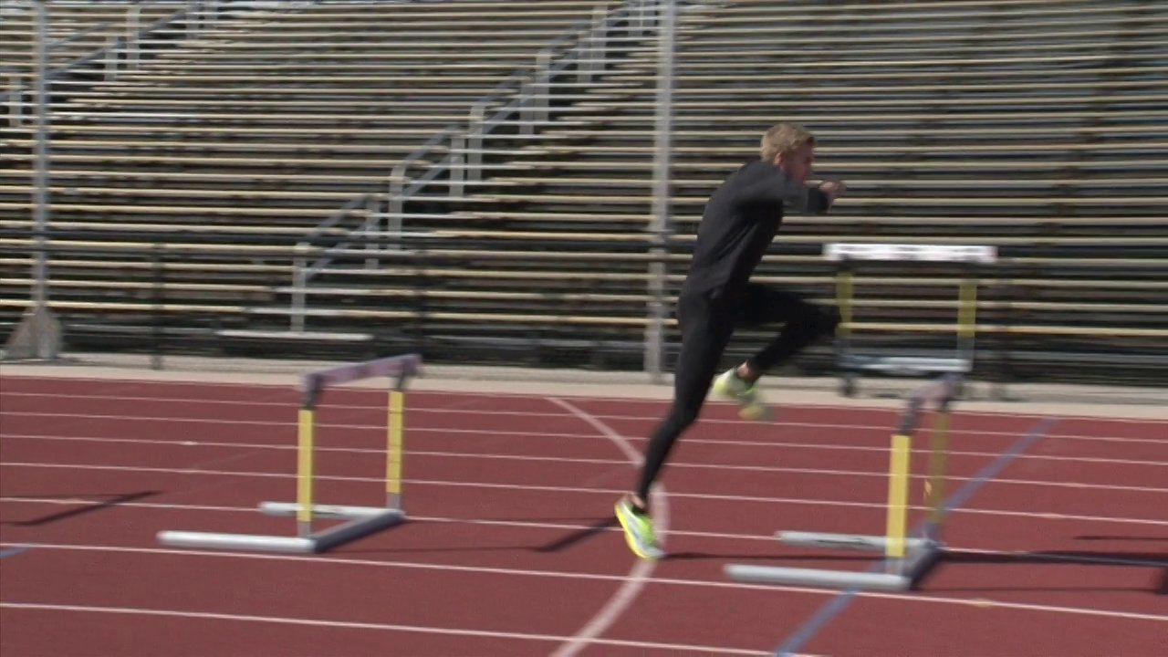 Hurdle Training Block Start Video