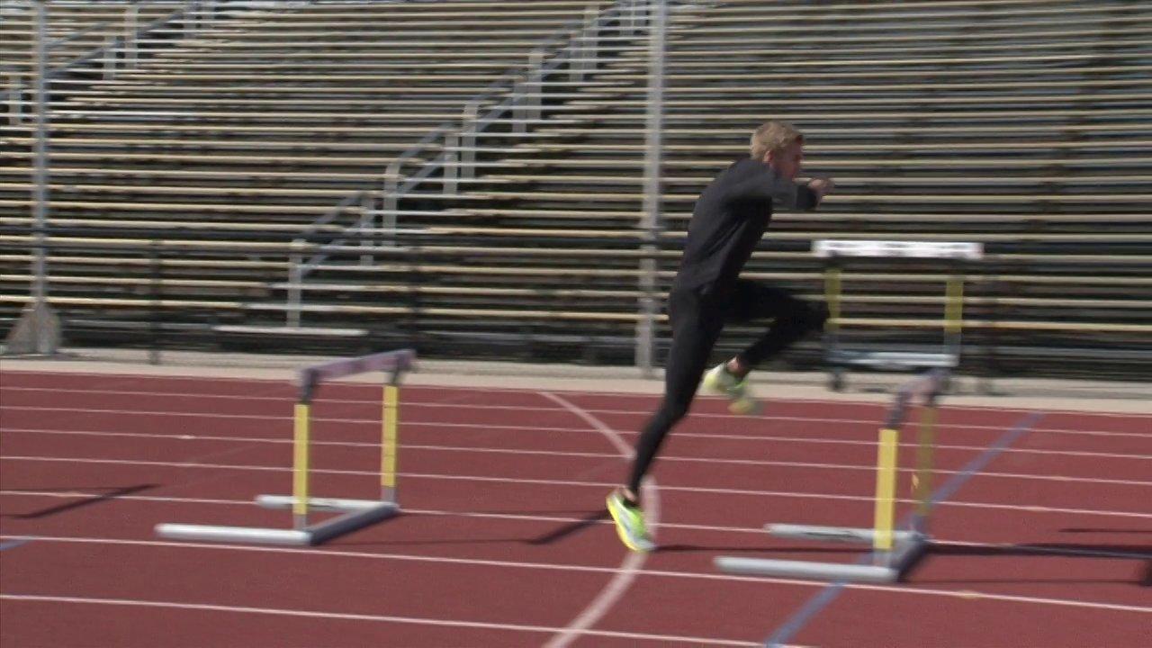 Hurdle Training Block Start Video