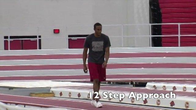 Long Jump Drills Approach Video