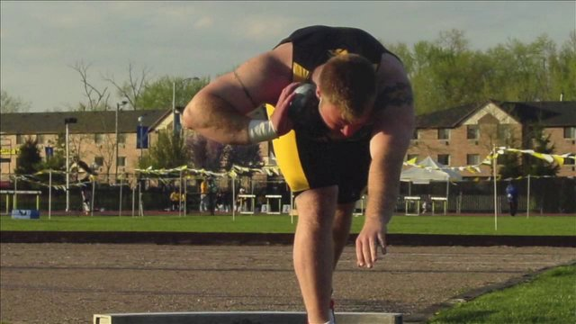 How to Shot Put -The Glide