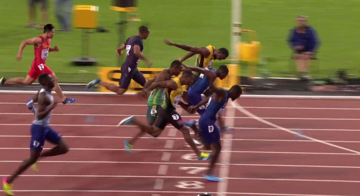 Usain's Start….Not a Lightning Bolt