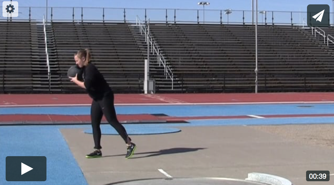 Shot Put Medicine Ball Throws with Video