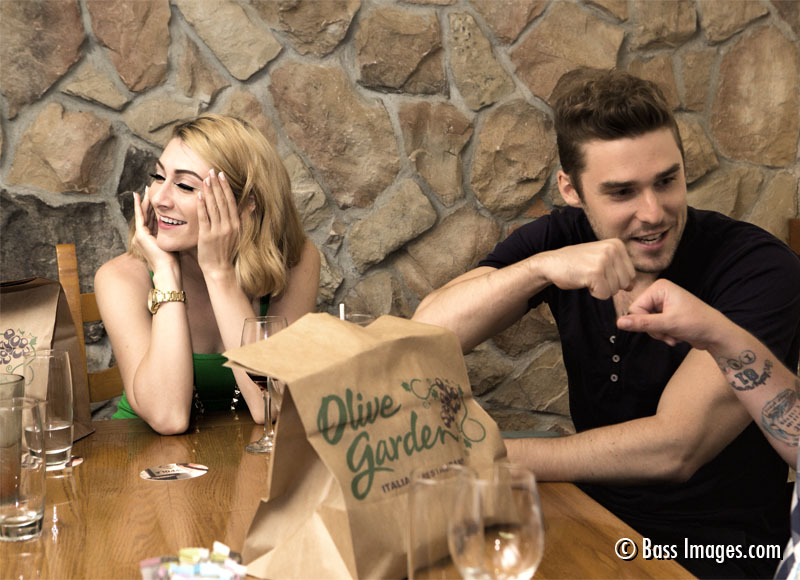 Karmin at the Garden