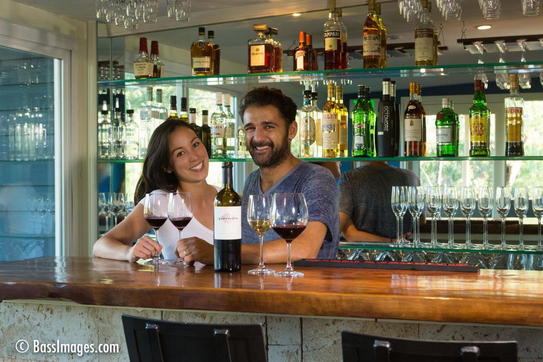 Pietro Julie at bar