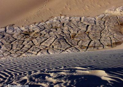 sand dune three textures