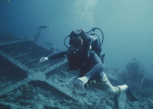 Joe Dorsey Dives THE DALHIA, a two-fer in the French West Indies.
