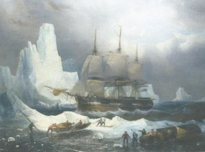 HMS Terror Bombards the Fort