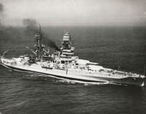 USS Arizona (credit: US Navy)
